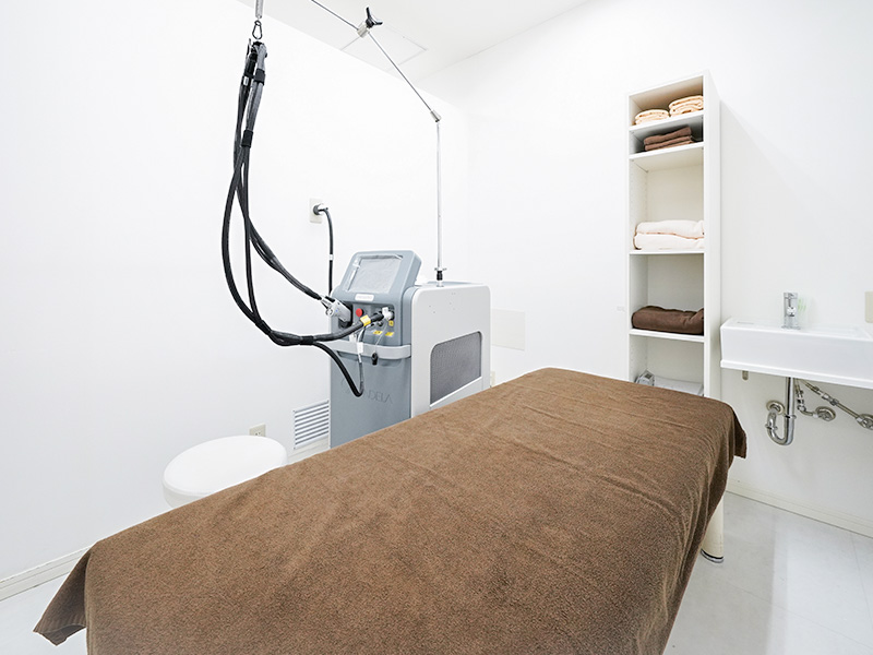横浜マリアクリニック美容皮膚科治療の施術室
