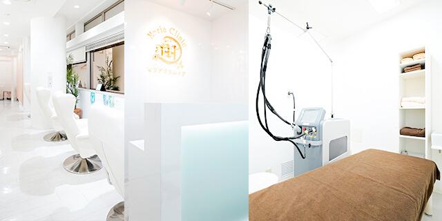 美容皮膚科横浜マリアクリニックの院内